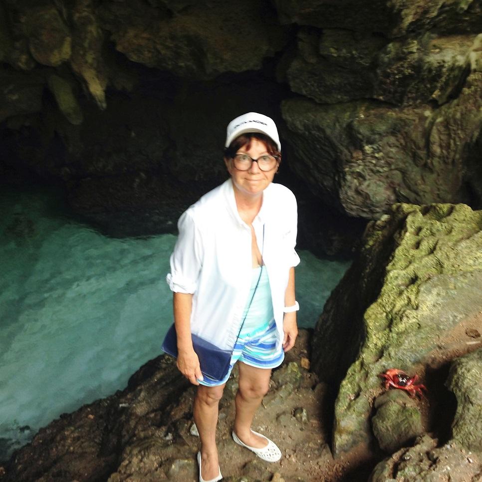 Deb grotto crab.JPG