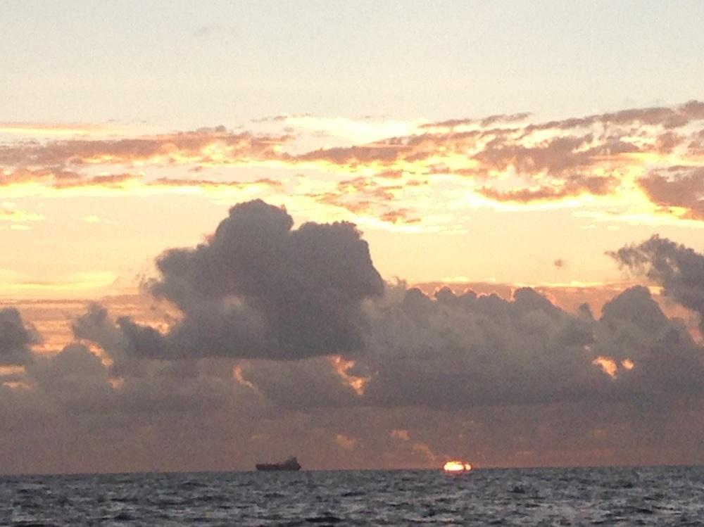 sunrise and ship.JPG