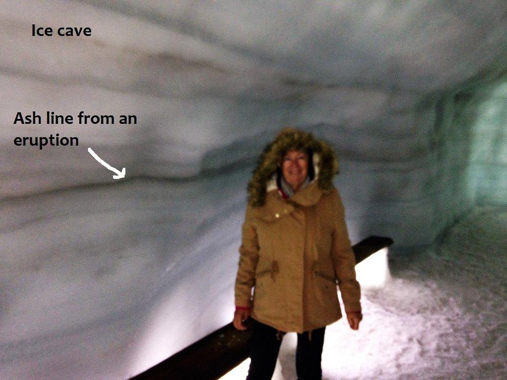 Deb ice cave.JPG