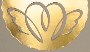 Light Hearted Gifts logo designed by Caroline Nisbett