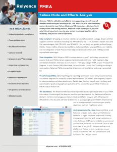 Relyence FMEA Brochure