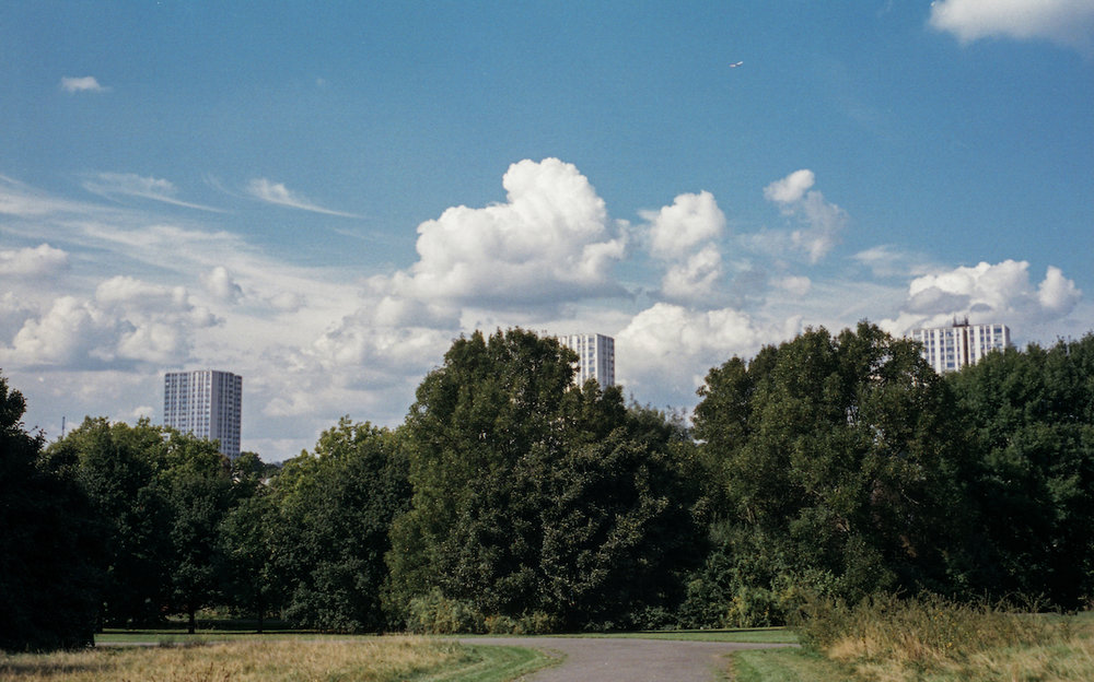 Portra 400 at Primrose Hill