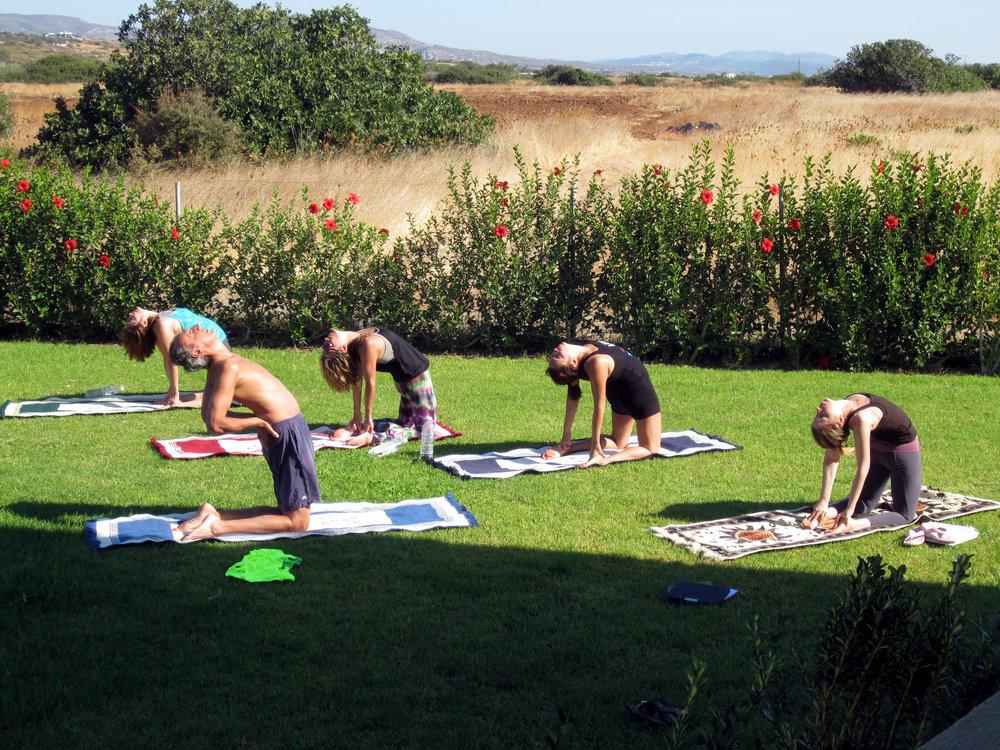 Morning Yoga Rhodes Greece