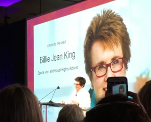 Billie Jean King, BOLD 2018