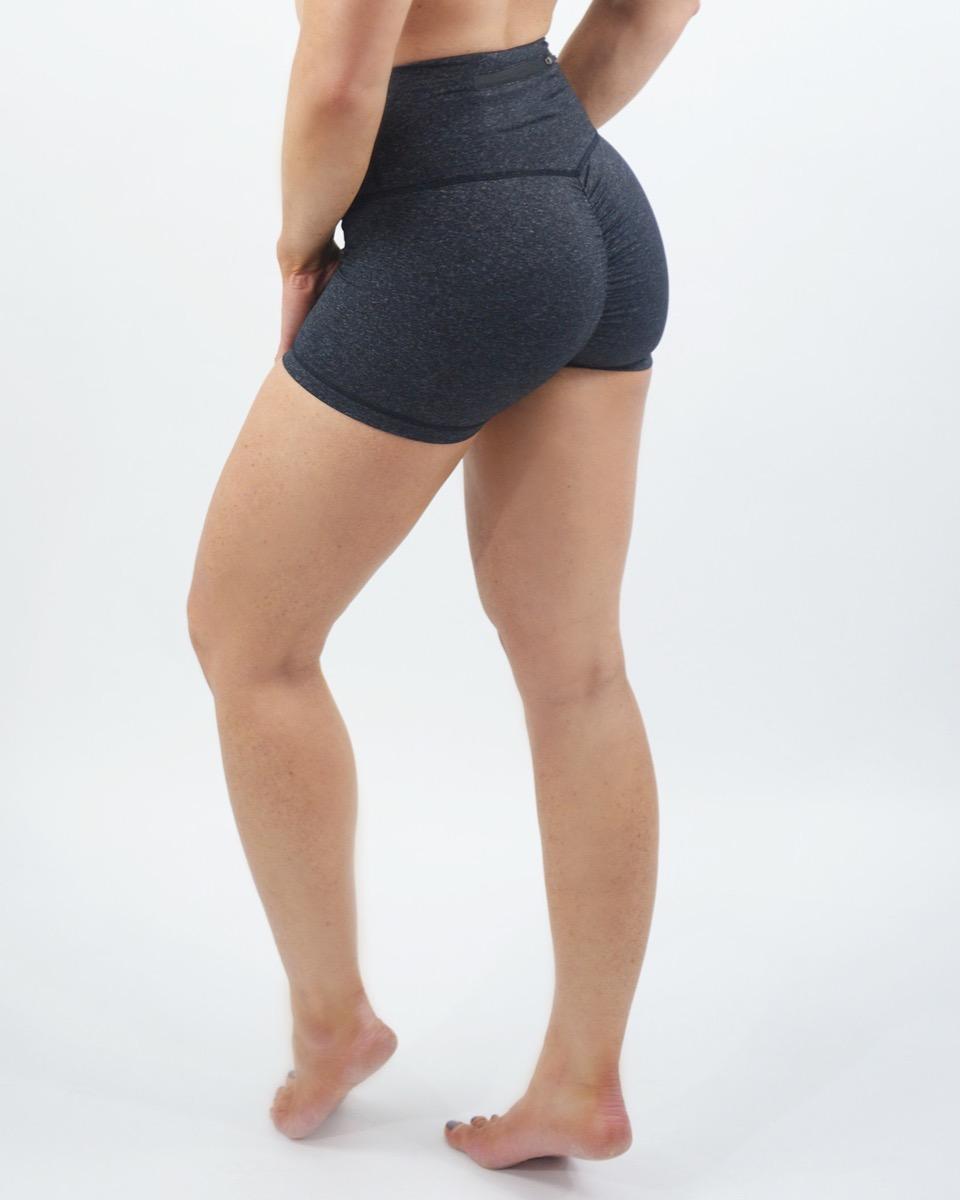 Scrunchy What Hi-Rise Hustle Shorts