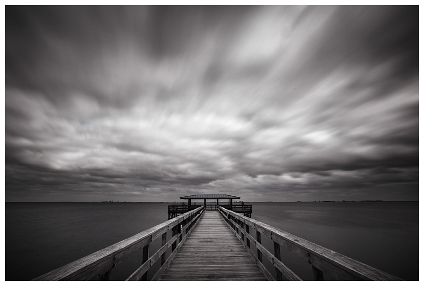 The Pier at Safety Harbor - Long exposure photography by Andrew Vernon
