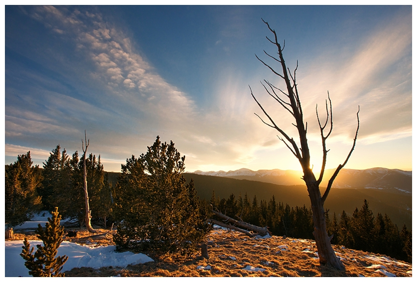 Sunset on Cordova Pass - Colorado Landscape Photography by Andrew Vernon