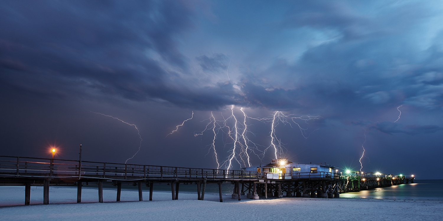 Show of Power - Florida Storm and Lightning Photography by Andrew Vernon