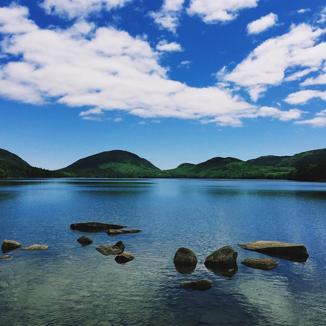 I_don_t_think_today_s_weather_could_have_been_any_more_beautiful...__iphone6__maine__vernonsinmaine__VSCOcam__barharbor__acadianationalpark__lake__blueskies__eaglelake__reflection.jpg