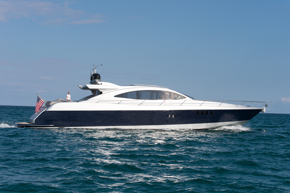Andiamo 23' Boat with 2 Cabins