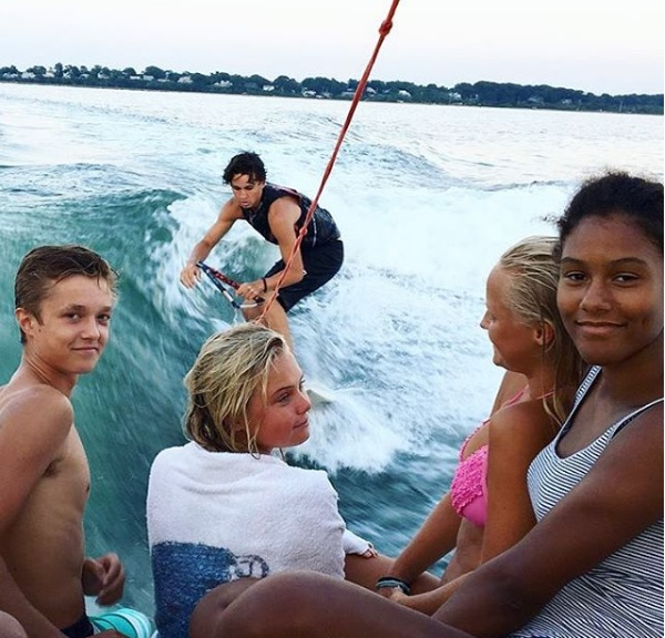 Wakeboarding by The riders