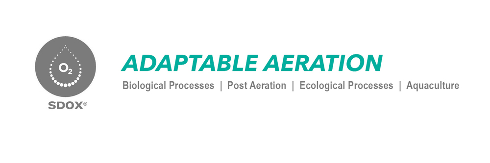 SDOX adaptable aeration waste water treatment, odor control, water aeration, aquaculture, sulfide removal, corrosion control, supplement D.O., bioremediation, establish aerobic conditions, prevent wwtp odor.