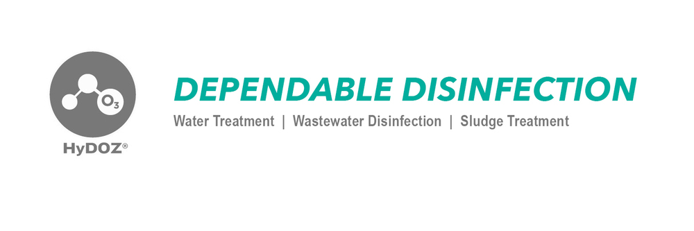 HyDOZ dependable disinfection, dissolved ozone.  Superior ozone treatment for water.  Disinfects safely while also oxygenating the water.