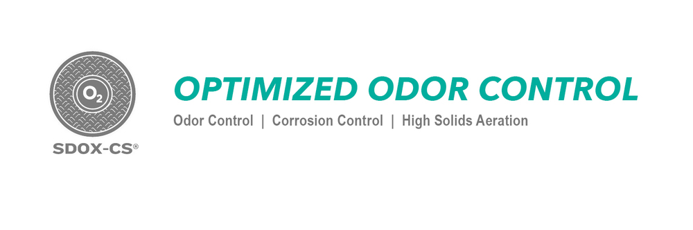 SDOX-CS Optimized Odor Control.  Control the odor coming from the surface of your waste water with the SDOX-CS.  Complete odor control of your plant safely and at a reduced cost.