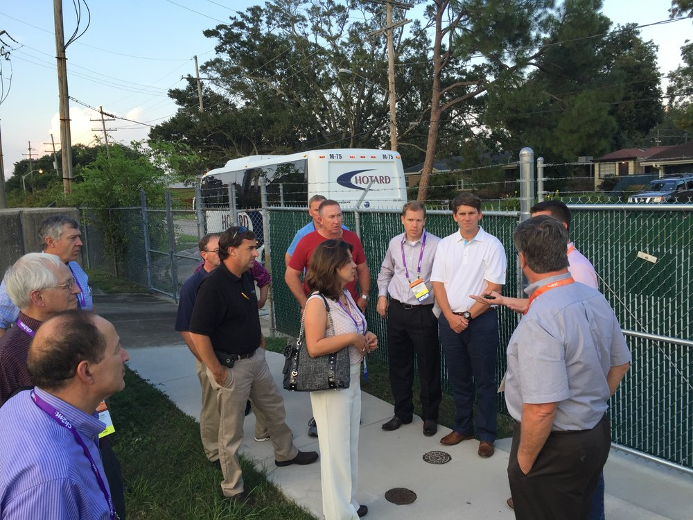 A BIG turnout. Thanks to everyone who toured our new SDOX-CS installation in Jefferson Parish, LA.
