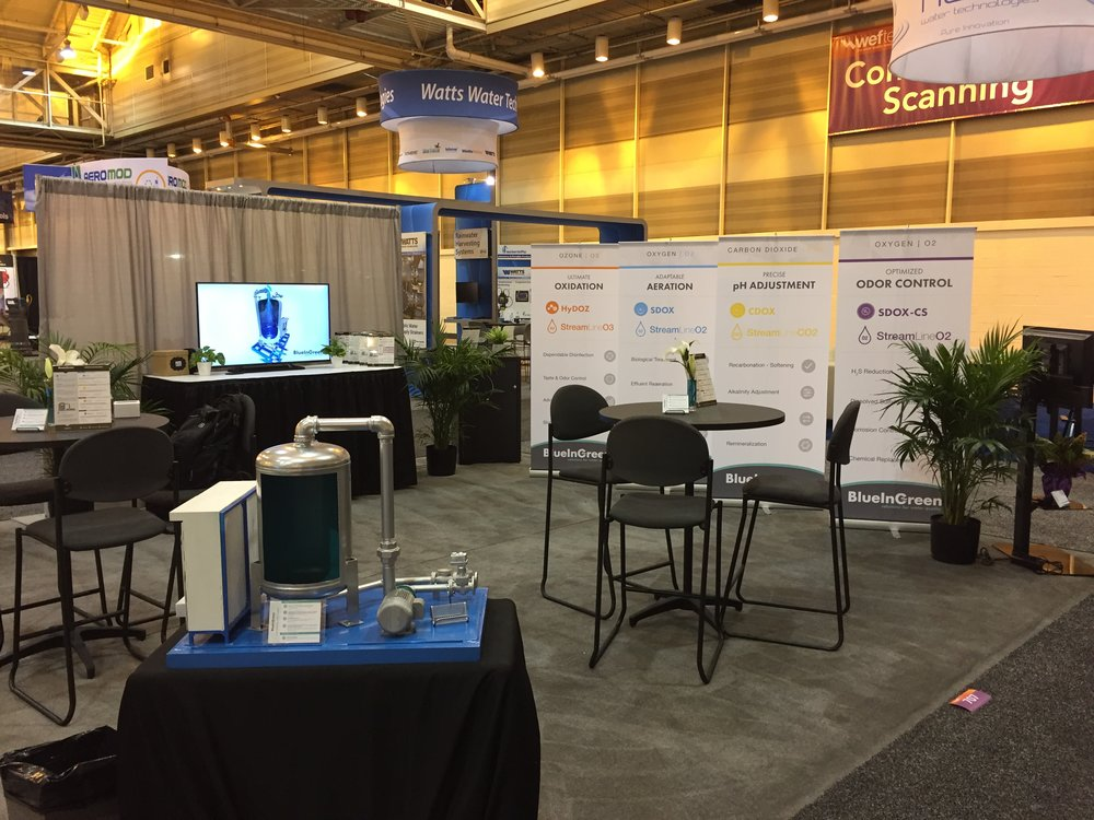 Nice setup. Thanks to everyone who stopped by booth 707 to discuss our solutions for water quality.