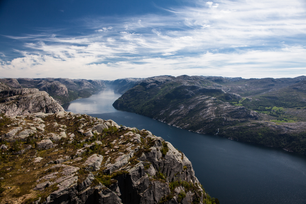 Preikestolen in western Norway