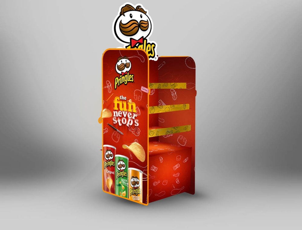 Pringles Collateral design