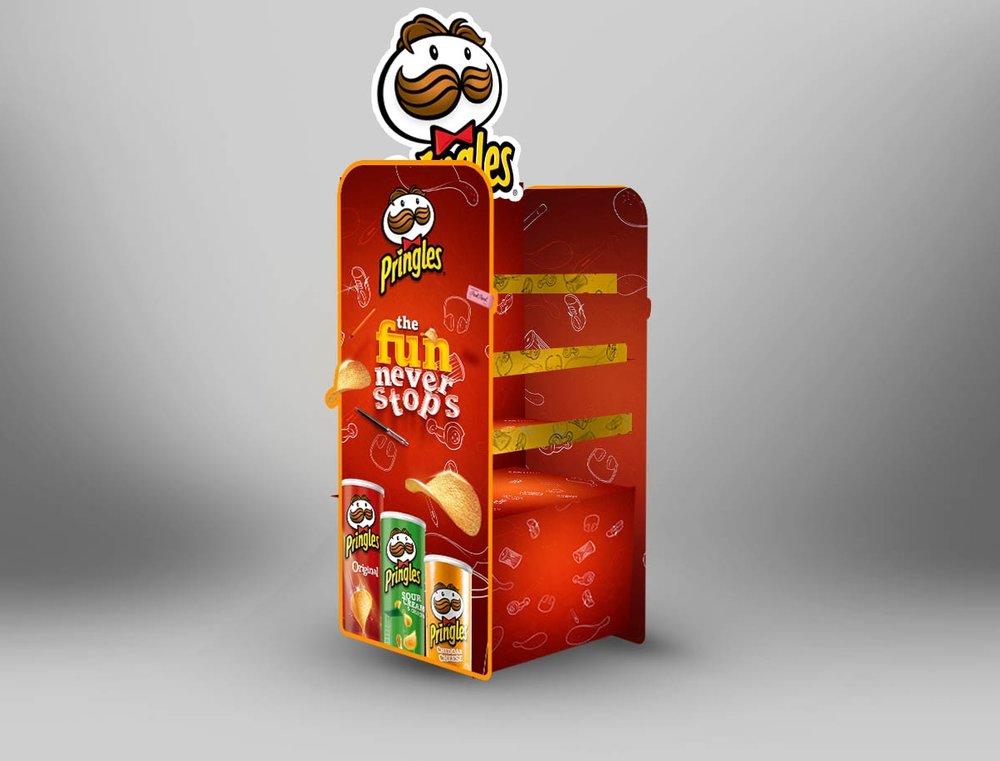 Pringles Collateral design