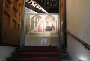 san marco annunciation stairway