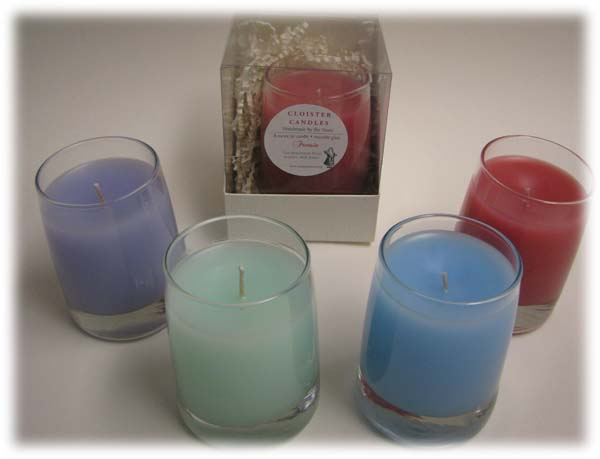 summer scent candles by Cloister Candles