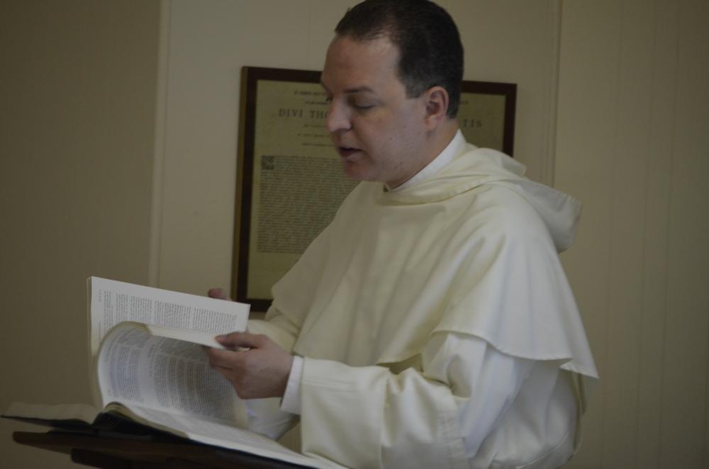 Fr. Thomas Pietri teaches the second week's course.