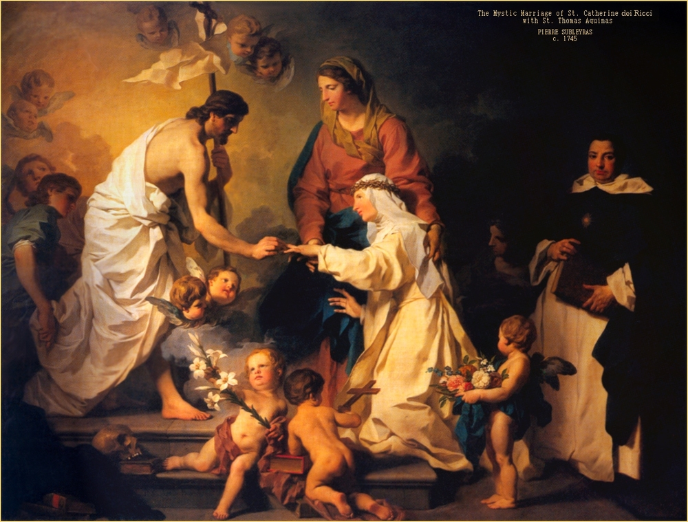 Mystical Marriage of St. Catherine di Ricci