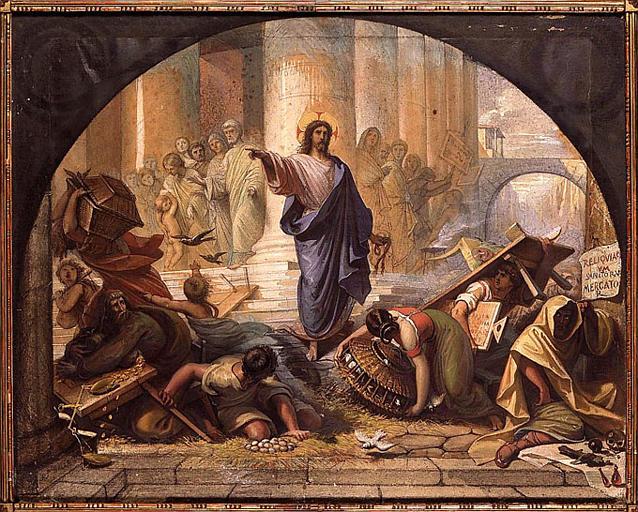 Raymond Balze_Expulsion of money changers_goache on paper_Montauban_Musee Ingres_1850s.jpg