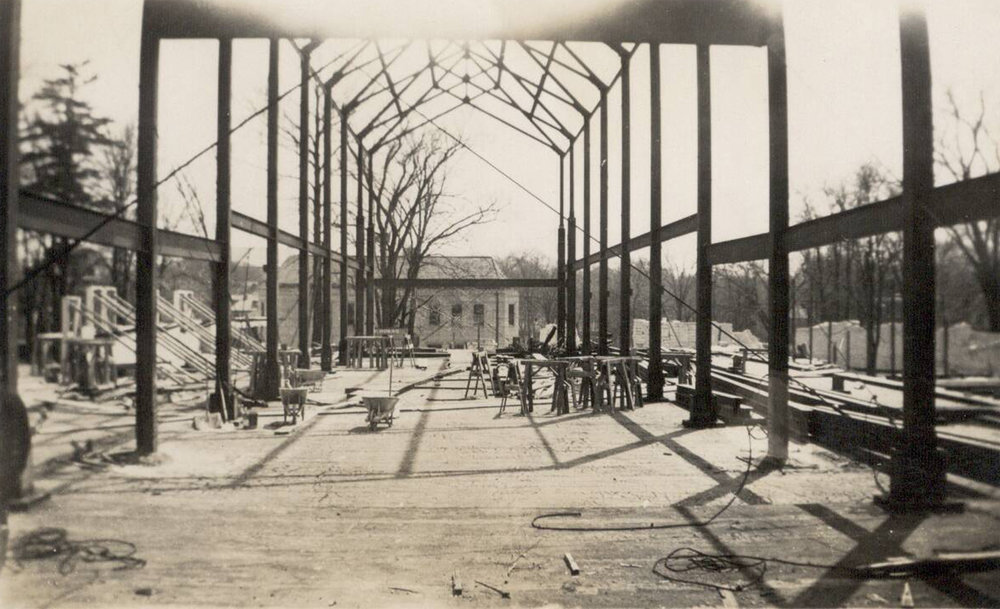 Construction of the Monastery