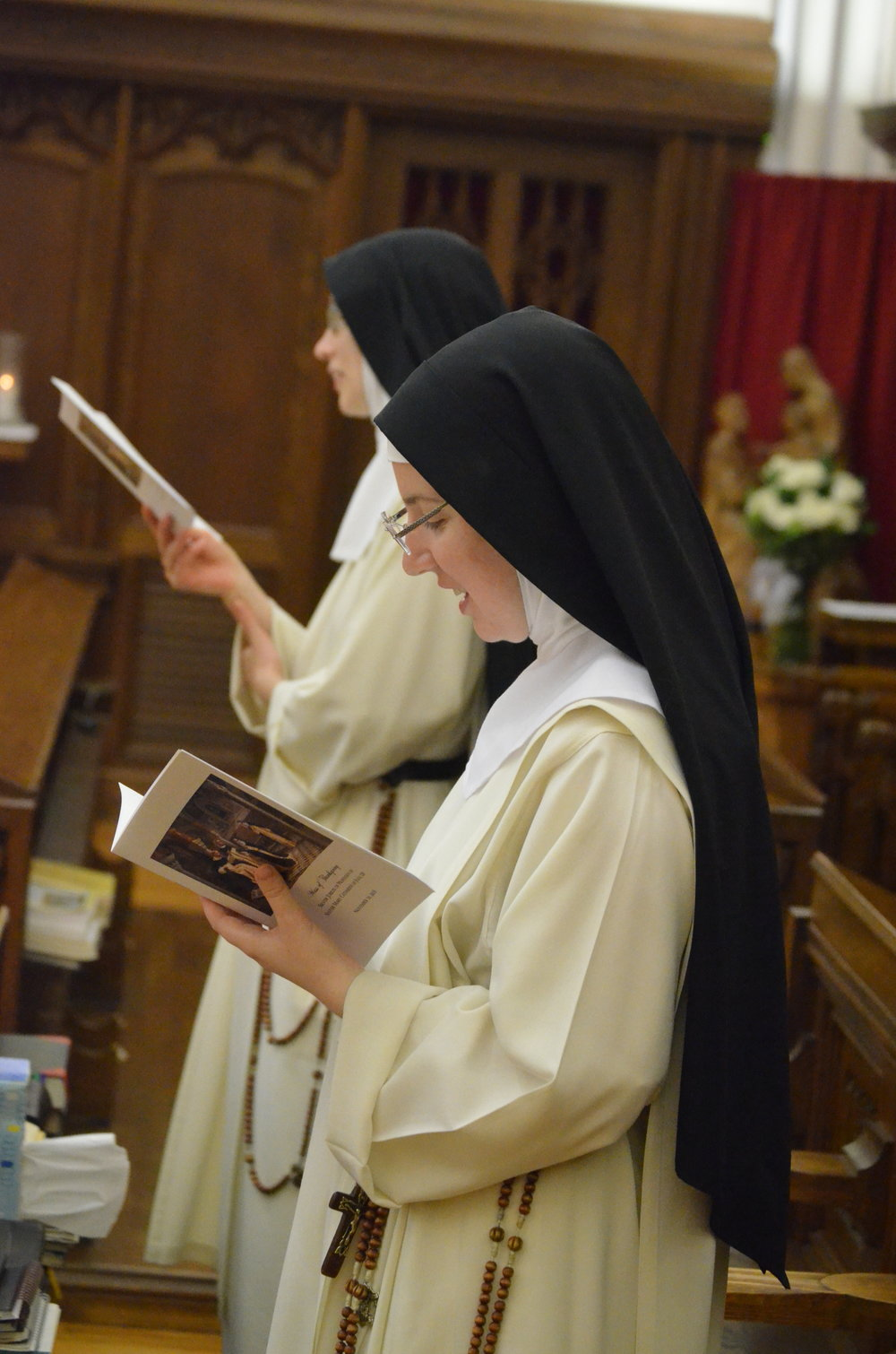 Sr. Mary Veronica and Sr. Maria Johanna