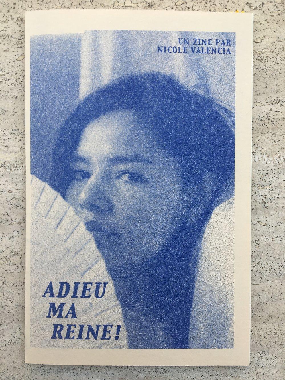 Adieu Ma Reine!by Nicole Valencia - 12 pg4.5