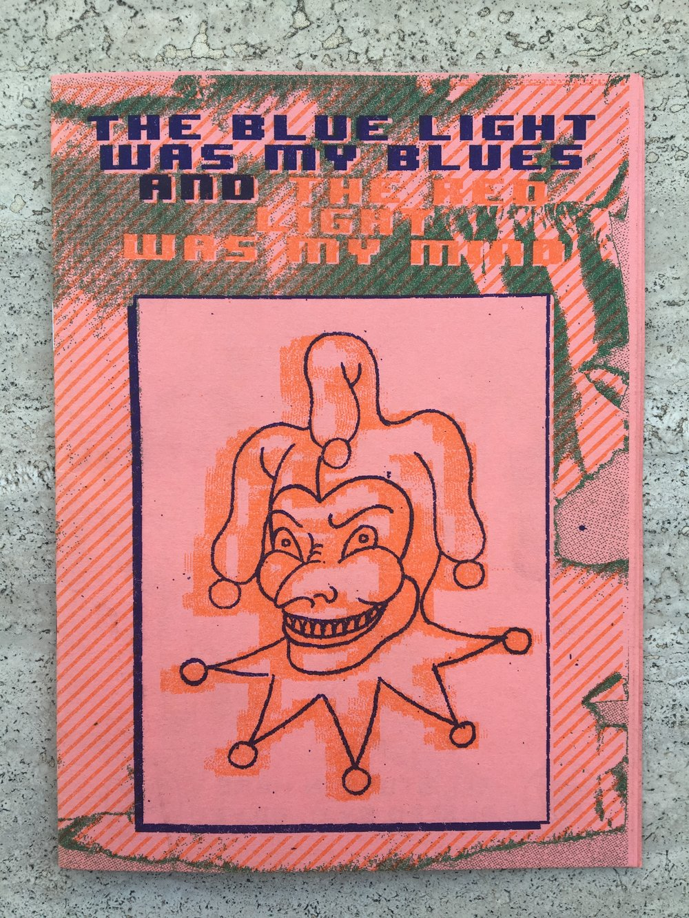 The Blue Light was my Blues, and the Red Light was my Mind by C. Bilyeu (Visual Malaise) - 12 pgSigned edition of 552018