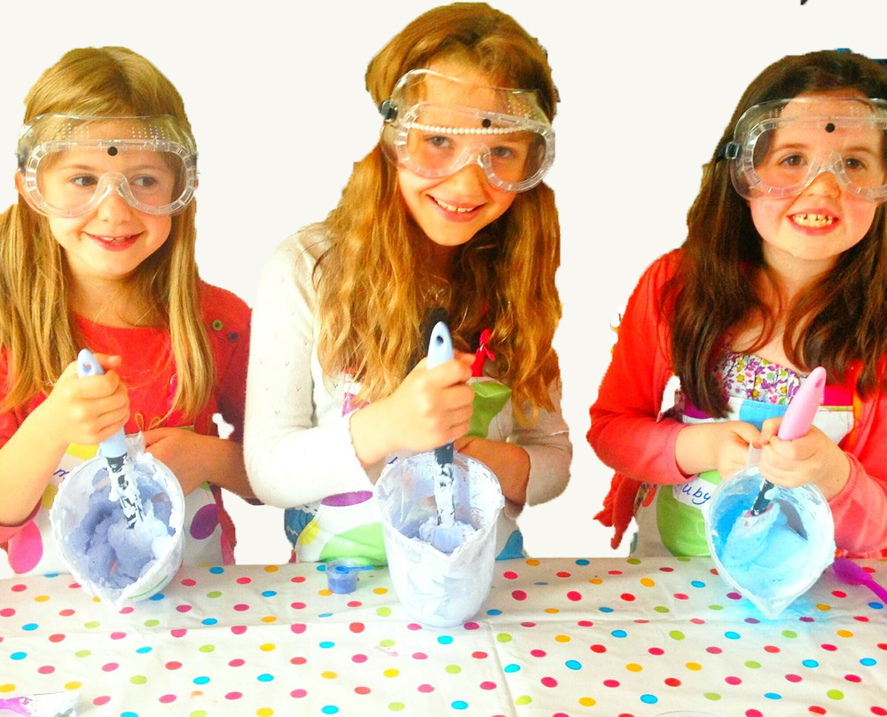 Copy of Copy of 3 girls making shower smoothie Kids soap making party