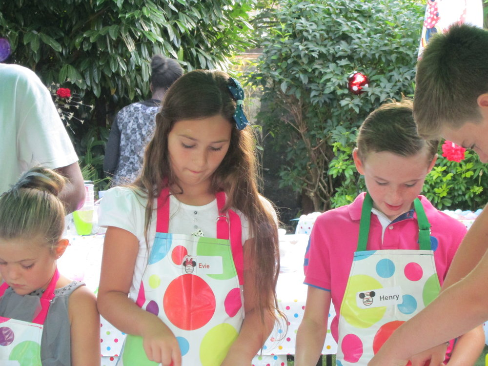 Sienna's party boys and girls soap making.JPG