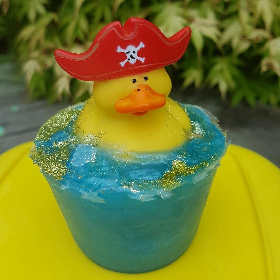 our cute duck soap