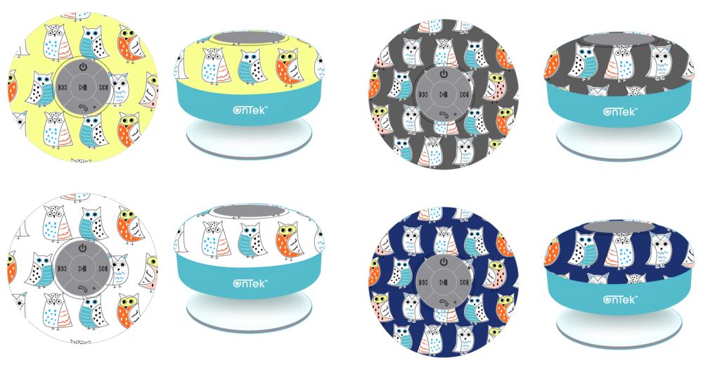 Ontek Speaker Owl Design Concept.png