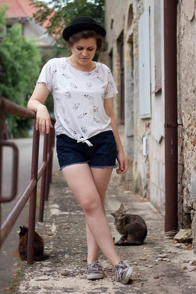 U focení kočičkatého outfitu nesmí chybět Batulka a Malina! <3