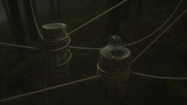 Strung up stumps. . . .  Thanks to Simon feilder rope presets, Maxtextures for wood ends and David chumilla liccioli  for bark. #mdcommunity #renderzone #c4d #octane . #tree #3Dart #digitalillustration #conceptart #concept #render #octanerender #art  #instart #abstract #3D #illustrator #artist #dailyart #abstract#cinematic #setdesign #architecture #forest #mgcommunity #setdesigner #artdepartment #cinedesign