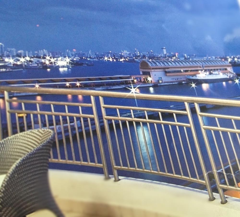 Baranda balcón hotel