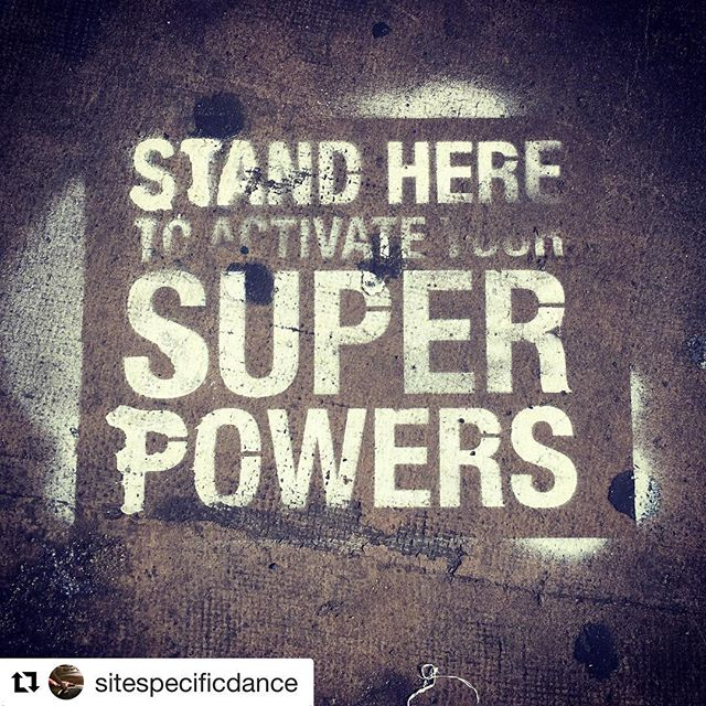 @sitespecificdance mmmmmaaaagggiic 🤟🏻!!! #sprpwrs #superpowers Activated! 🎱 Sources say Yes.