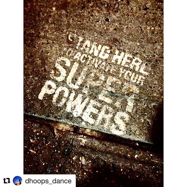 @dhoops_dance 🤟🏻🤟🏻🤟🏻!!!! #sprpwrs Activated!!!! #superpowers 🌈💨
