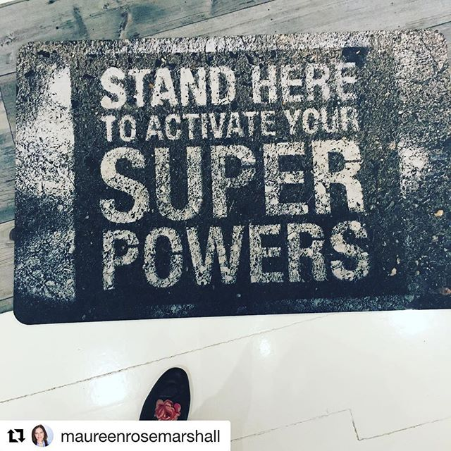 @maureenrosemarshall It works!!!! 🙌🏻 #sprpwrs #superpowers Activated. Expect magic.