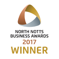 North Notts Business Award 2017 - Winner