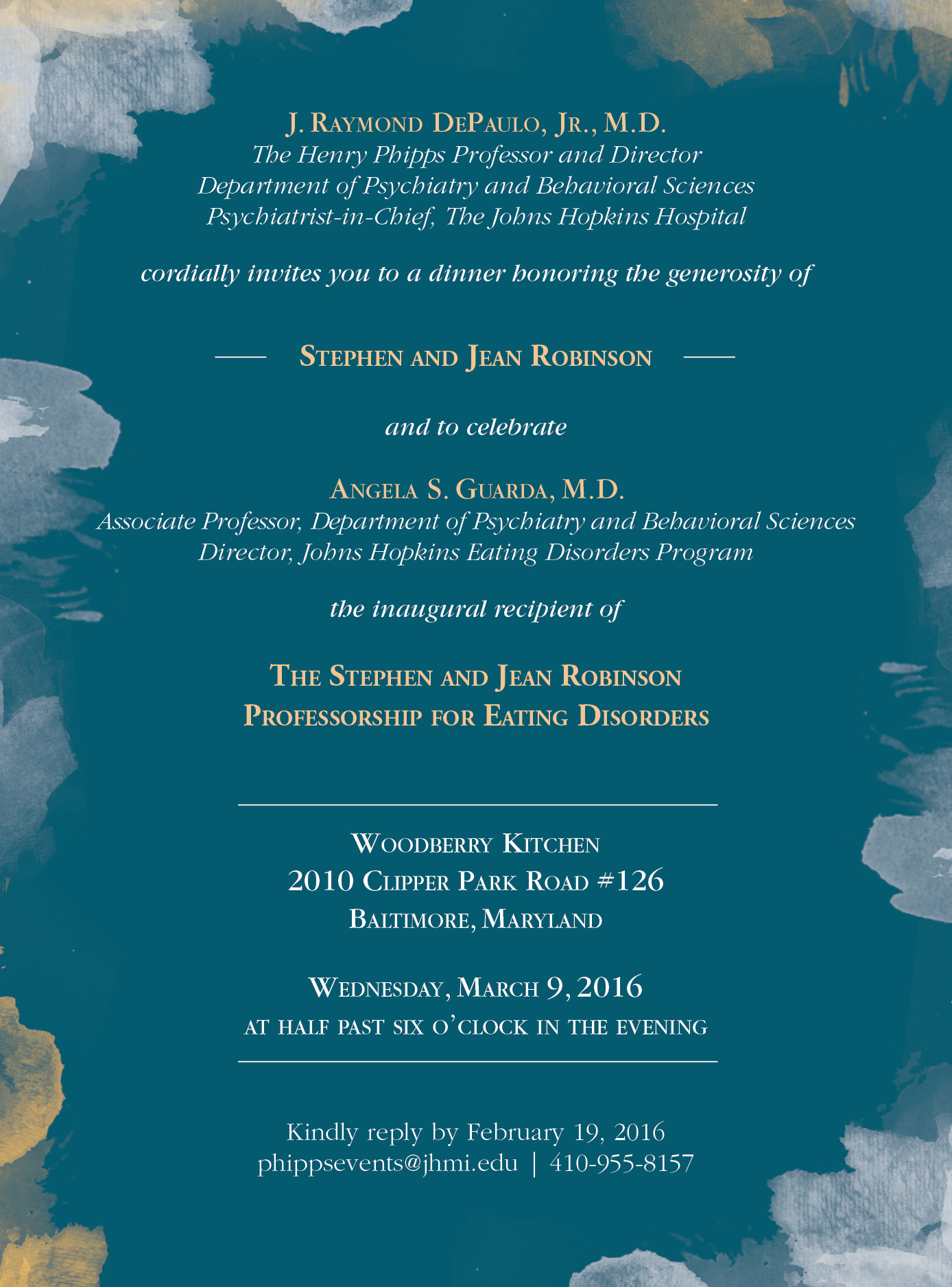 Professorship Invitation Emalee Sage Gill