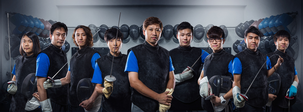 HK Pro Fencing Centre Coaching Team