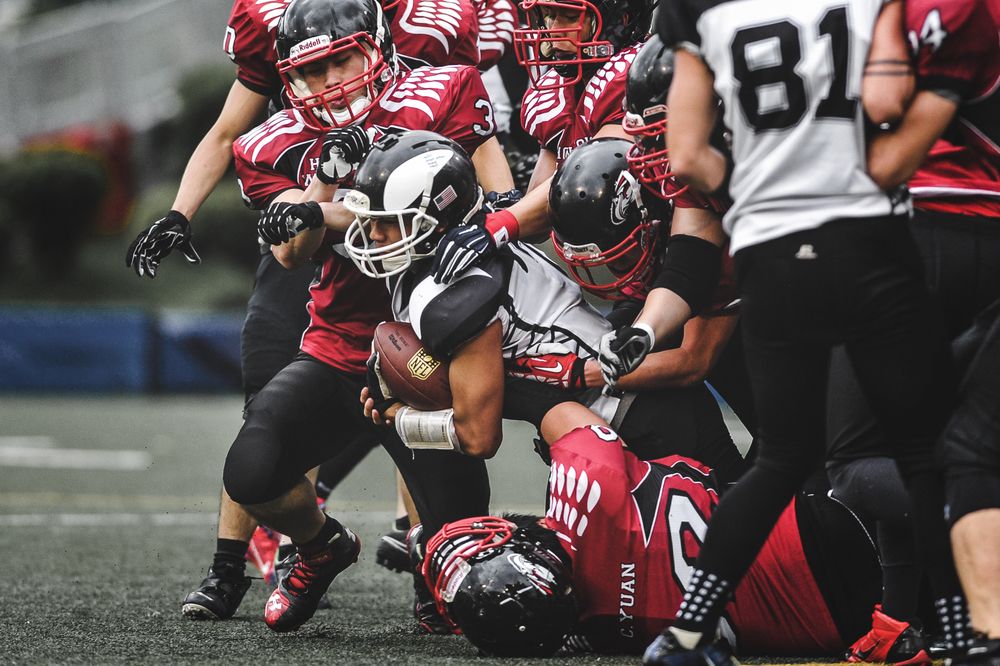 AFLC Pre-sseason Game 2  Hong Kong Warhawks American Football Team - 香港戰鷹美式足球隊  26 : 6  香港殺人鯨美式足球隊 Hong Kong Combat Orcas American Football Team  季前熱身賽 香港戰鷹 26 : 6 香港殺人鯨
