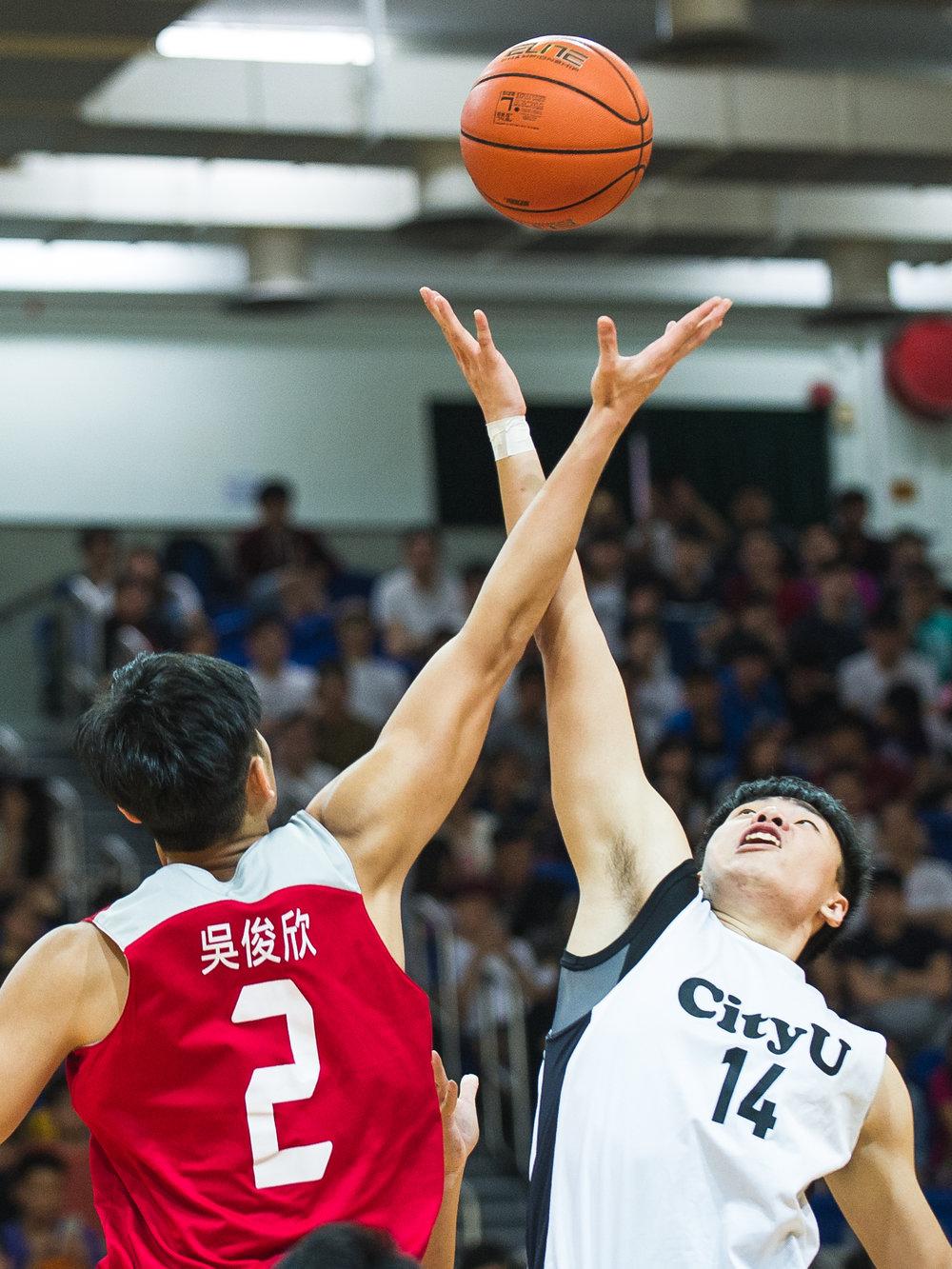 大專籃球決賽日 USFHK Men's Basketball Final on 2016 April 17th   PolyU Men's Basketball Team  98 : 59 CityU 城市大學