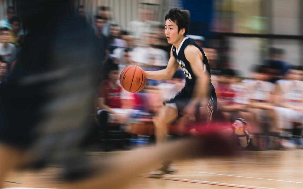 日本京都大學平均身形最細小,打小球快攻為其特色 Sony A9 1/40s f/4 ISO 320 130mm (FE 70-200mm F28 GM OSS)