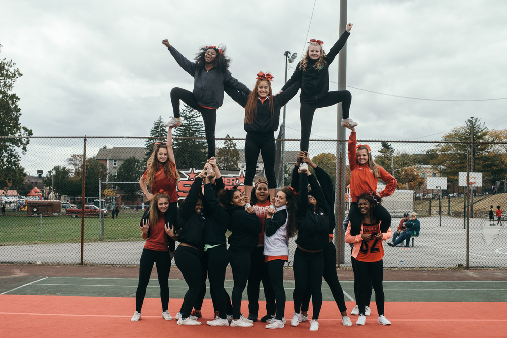 Raider Starz competitive cheerleading team: One of Coatesville's star youth organizations which rarely get the press they deserve. #pushthepositive
