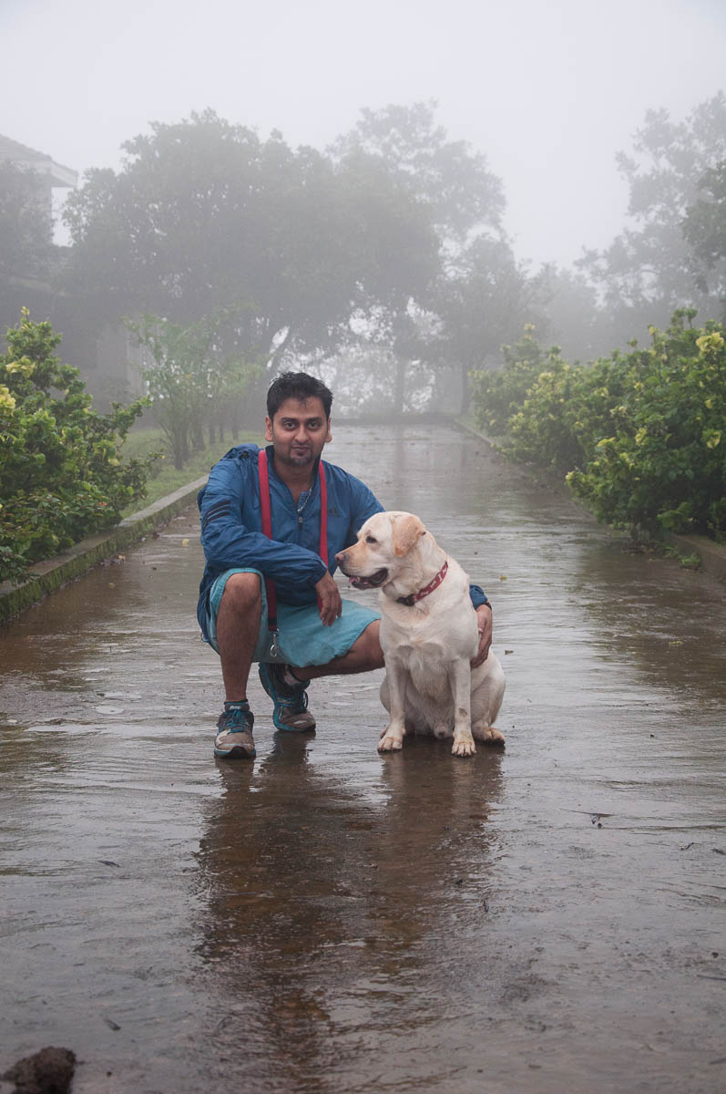 Abhijeet and Oliver. Often affectionately called Dopey (the dog, not Abhijeet).